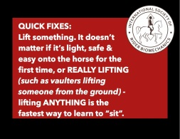 Quick fixes. Lift Something!